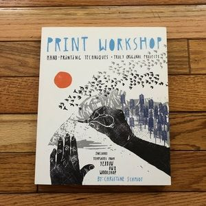 Print Workshop art printmaking project book
